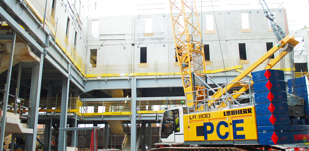 Total precast package provided by PCE