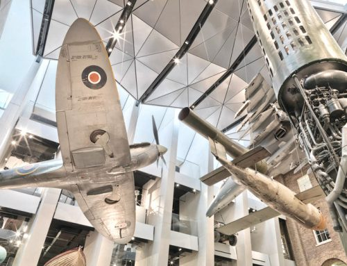 Imperial War Museum gallery resembles aircraft wings