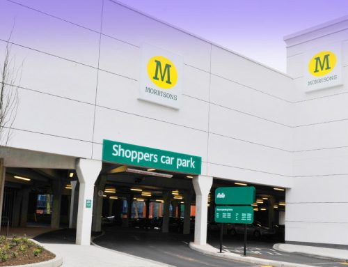 GT long span flooring for Morrisons car park