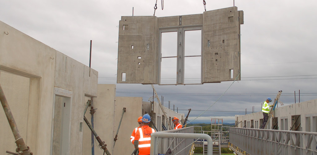 Benefits of increasing the functionality of precast concrete
