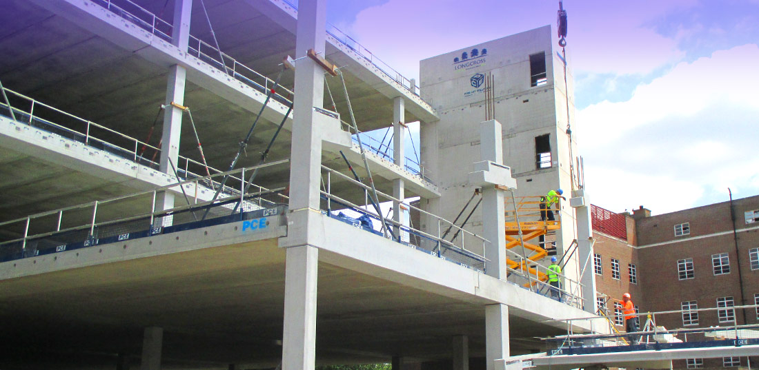 off-site concrete construction techniques by PCE Ltd