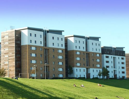 Hybrid precast accommodation for university
