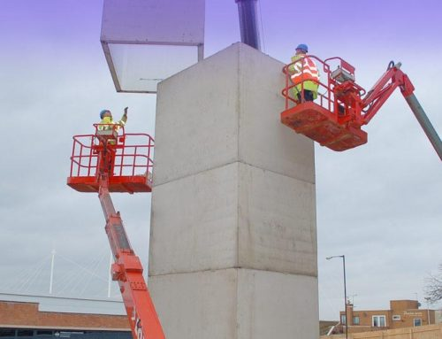 Precast lift shaft provides rapid and cost-effective solution for college