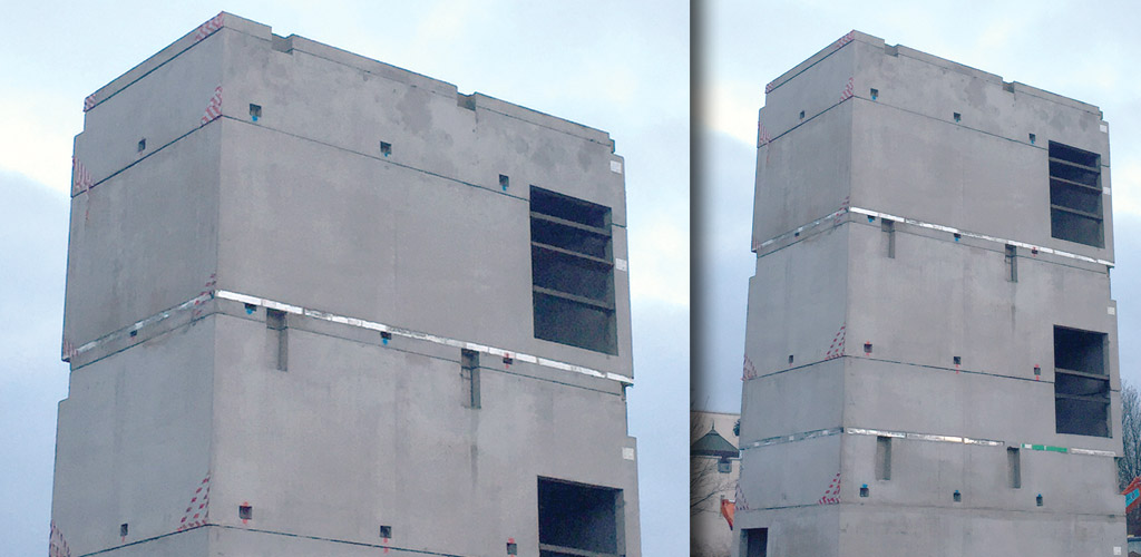 36 precast hybrid custody cells by PCE