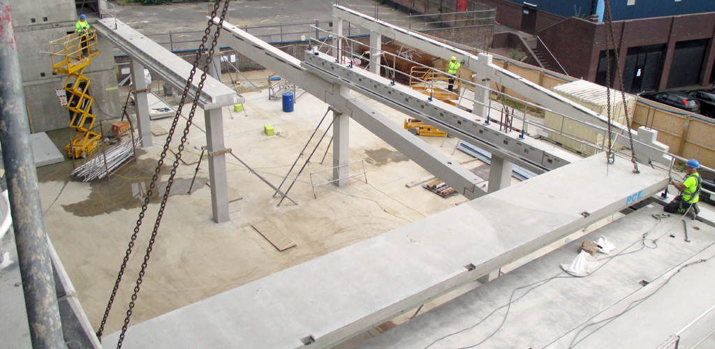 The advantages of precast concrete in today's construction environment