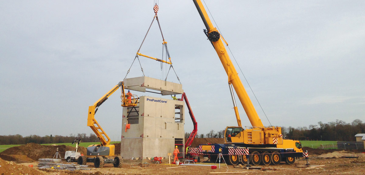 PCE will erect the units using their own in-house highly trained erectors