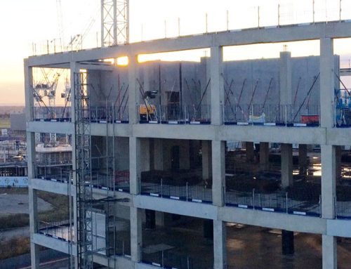 Capella update 13 – final precast concrete columns installed