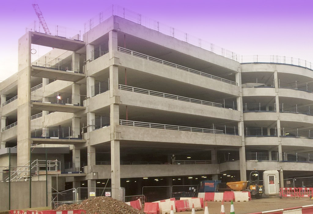 Precast concrete by PCE at the Lexicon Bracknell