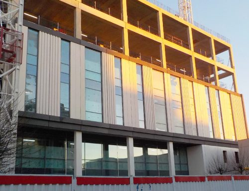 Capella update 15 – integration of precast façade