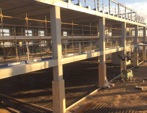 CEF Durham update 3 – GT flooring units provide structural frame solution