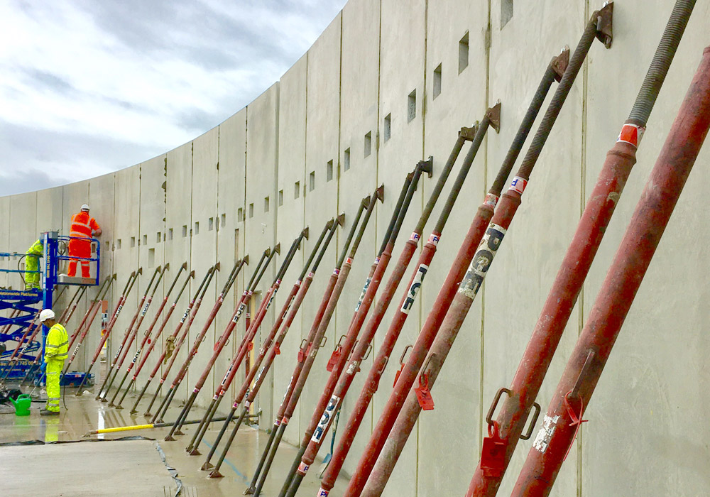 Precast reinforced concrete manuafactured offsite to high quality specifications