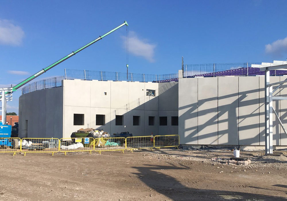 PCE were appointed by Main Contractor Willmott Dixon as a specialist contractor