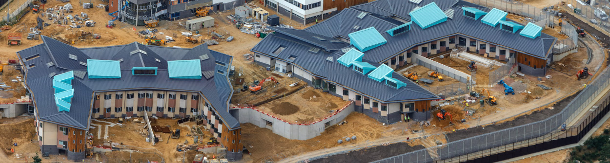Healthcare and bioscience construction