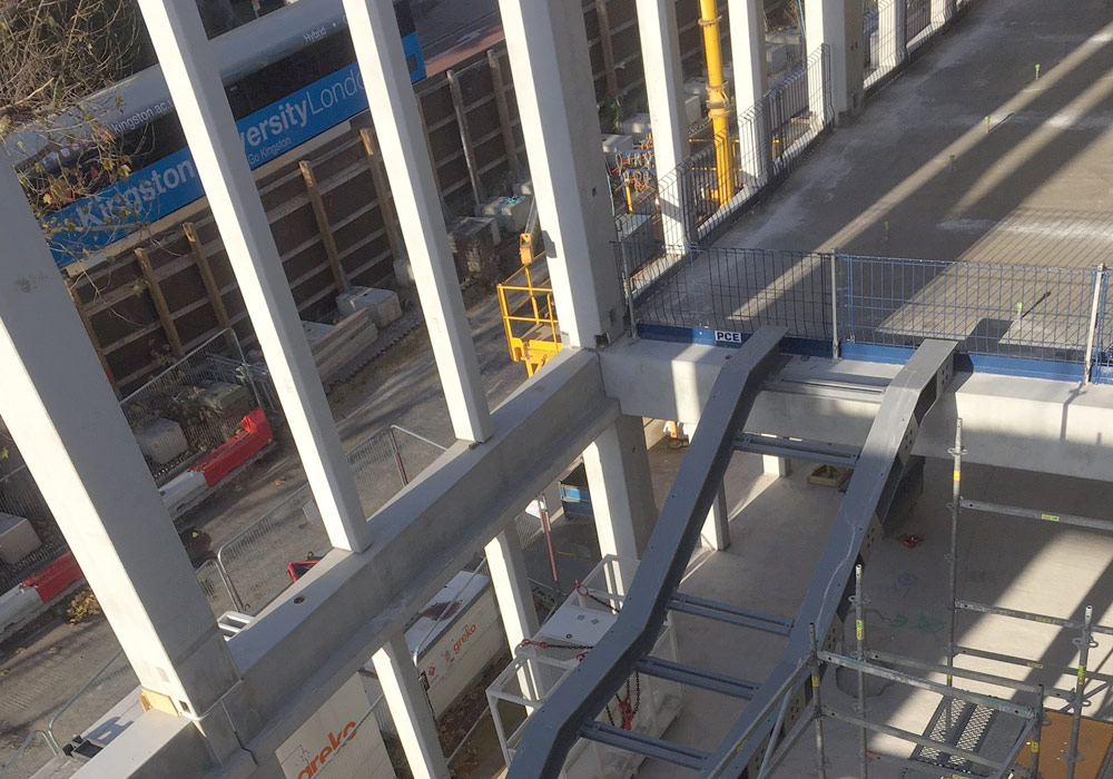 Hybrid construction tecniques employed by PCE at Kingston University