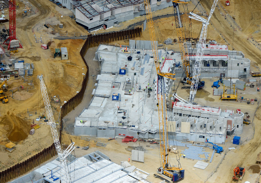 The off-site precast construction has provided huge benefits