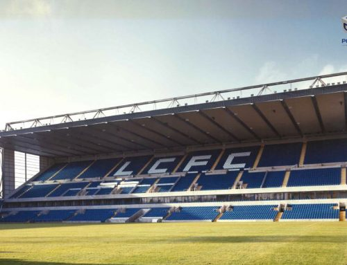 1993: New main stand for Leicester City FC