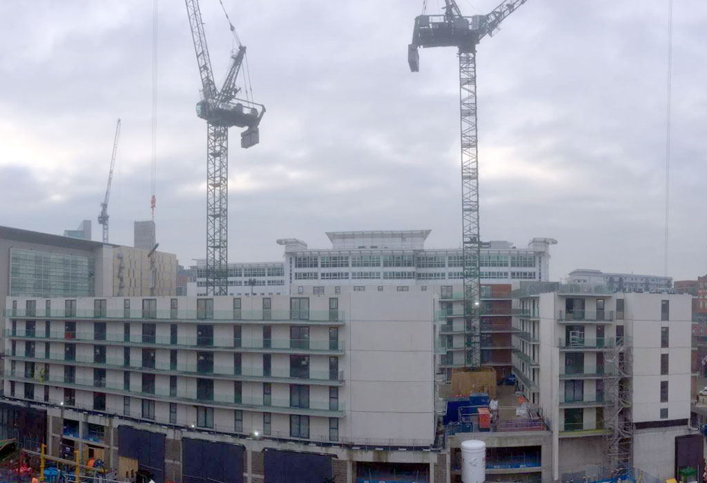 Developer Dandara's 995 Build to Rent apartment scheme at Chapel Wharf