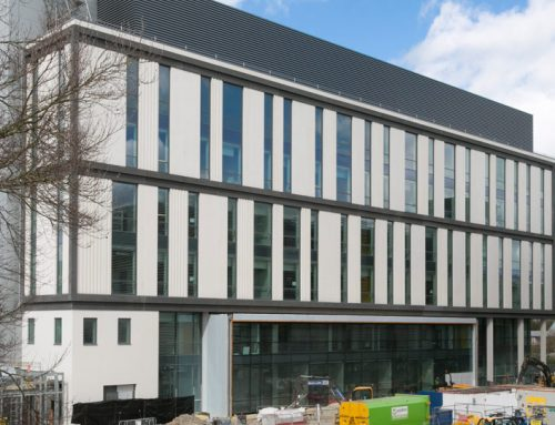 Offsite hybrid construction solution for multi-storey laboratory building in Cambridge