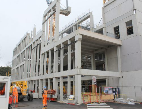 Benefits of precast concrete clearly demonstrated at Kingston project