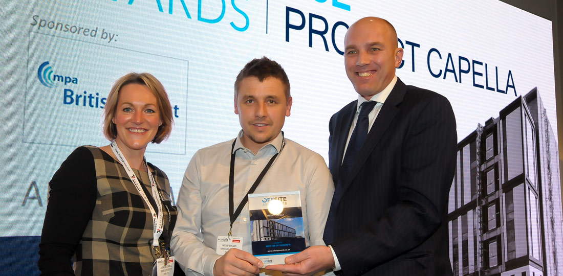 PCE recognised as winner of winners at Offsite Awards for Capella project
