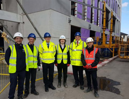 Offsite Hybrid Structural Concrete benefits demonstrated at Town House