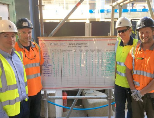 Chapel Wharf update 7 – PCE team scoops monthly safety award