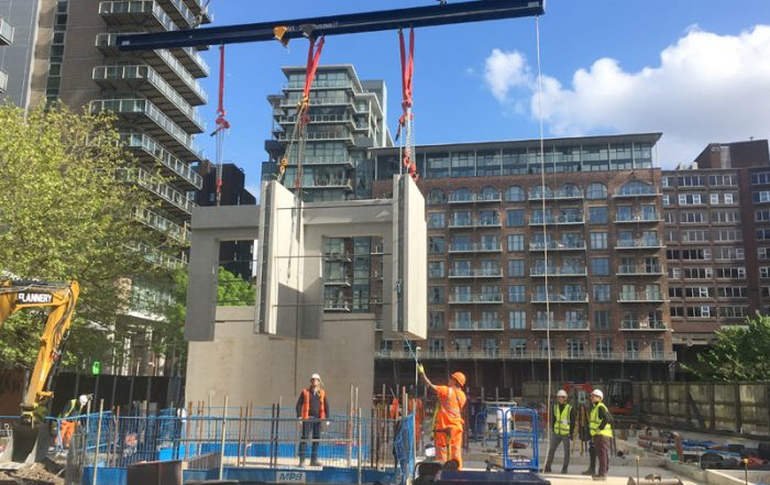PCE Ltd is the specialist design and build contractor for the four tower blocks