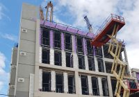 PCE worked to develop an offsite fabricated hybrid solution for the concrete frame