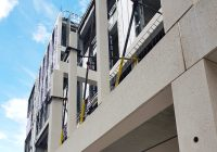 The use of offsite manufacture leads to a faster on site build