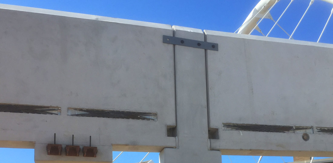 This was originally an insitu scheme, which was converted to a precast solution