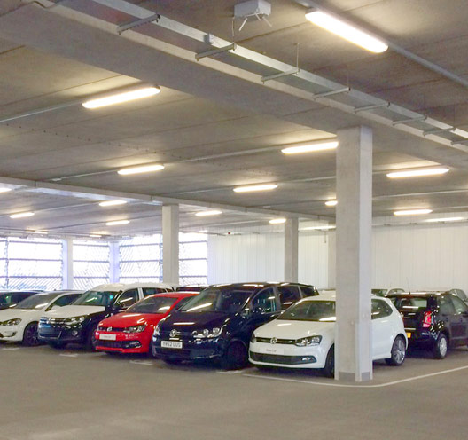 Long span offsite engineered flooring units by PCE Ltd