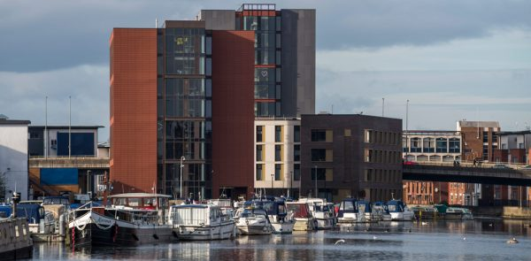 Student accommodation, up to 11 storeys high in Lincoln by PCE