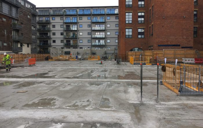 Construction update at Vulcan Mill in Manchester