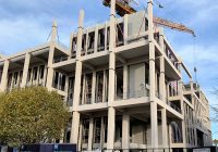 PCE has completed manufacturing and are nearing construction completion on Kingston University's Townhouse Project