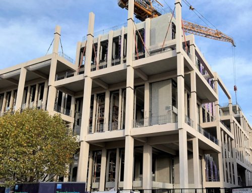 Kingston University update 13 – completion of colonnade