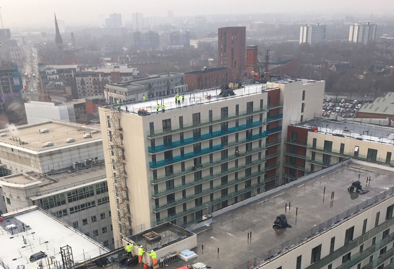 PCE is Design and Build Contractor for the four tower blocks up to 23 storeys tall