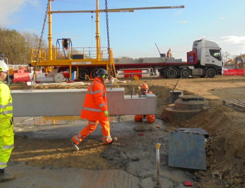 Durham University update 4 – 'fast track' ground beam solution as construction begins