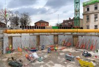 PCE's HybriDfMA frame solution has started on site in Leeds