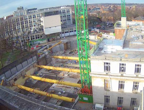 Sir William Henry Bragg building update 2 – below ground elements require only 12 weeks and 10 people