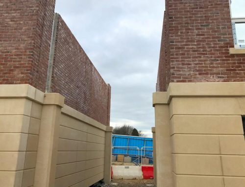 Durham University update 5 – architectural archways take shape