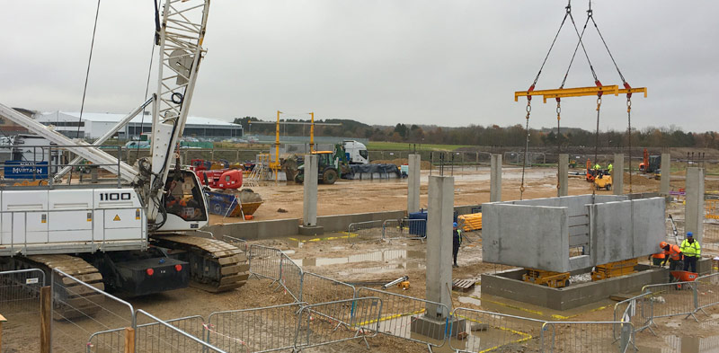 PCEs HybriDfMA construction method at CEF in Durham