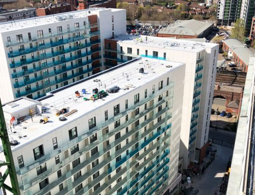 Update 18 – Chapel Wharf topped out!