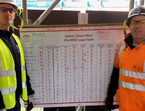 Health & Safety success at Chapel Wharf