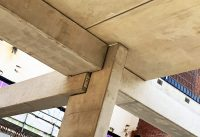 PCE's Delta Beam steel sections, insitu concrete and precast concrete components