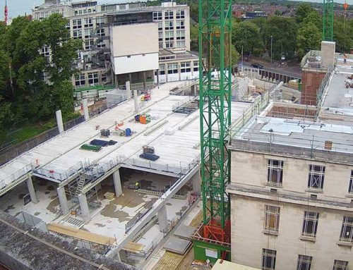 Leeds University update 4 – ground floor level completed