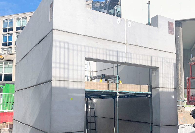 Part of PCE's HybriDfMA Offsite engineered structural solution