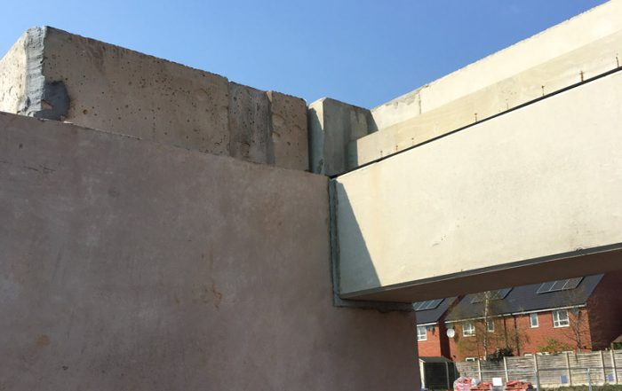 910 structural precast concrete units have been manufactured offsite