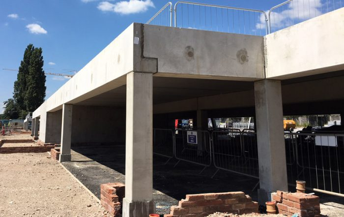 PCE's HybriDfMA system build approach in Salford