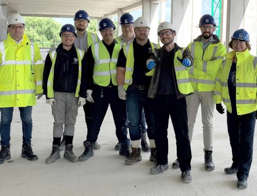 PCE Design Team visits Leeds University Project