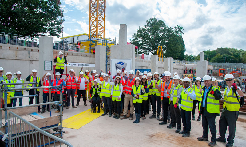 High safety standards achieved by PCE on University of Warwick project